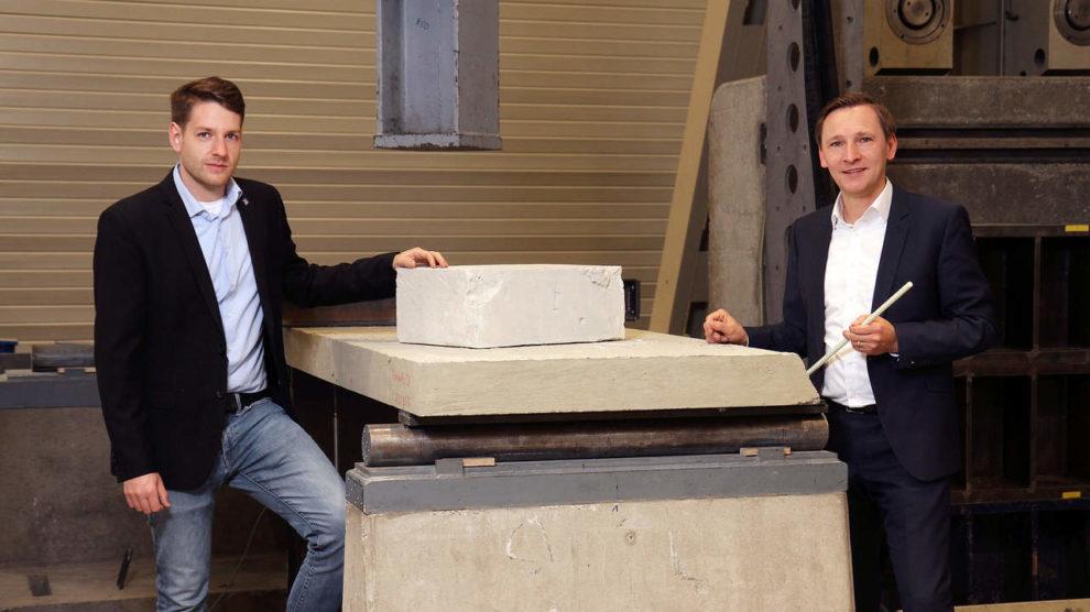 Forscher mit umweltfreundlicheren Betonbauteilen durch Mineralschaum aus Recyclingsand