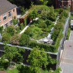 Ein Dachgarten ist nicht nur wohltuend für die Nutzer, sondern verbessert auch das Stadtklima. Bild: BuGG, G. Mann