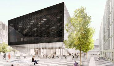 Das Futurium (Haus der Zukunft) öffnet am 16. September 2017 temporär seine Pforten. Bild: Richter Musikowski Architekten