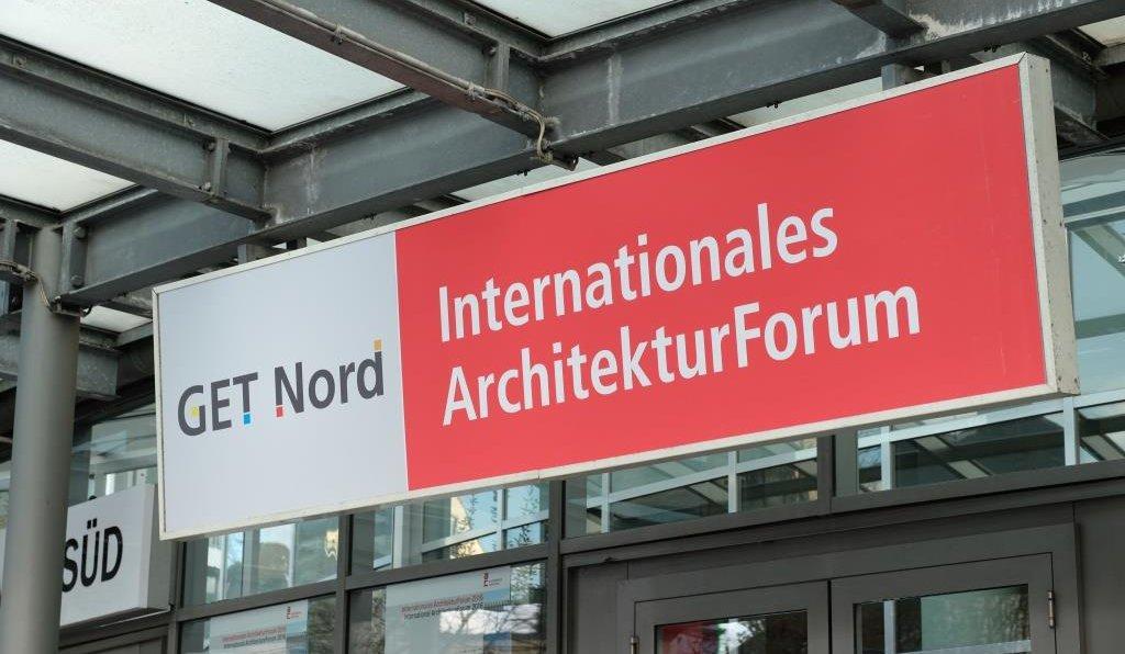 Im Rahmen der Messe GET Nord findet vom 22. bis 24. November 2018 in Hamburg das Internationale ArchitekturForum 2018 statt. Bild: Hamburg Messe und Congress / Stephan-Wallocha