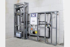 Brandschutzgeprüfte, zertifizierte Komplettsysteme für den Installationsschacht von Geberit