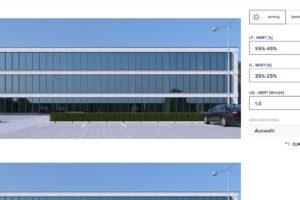 Online-Tool für die Glasfassade