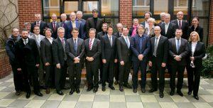 Die Gründungsmitglieder des Deutschen Ausschusses für Mauerwerk (DAfM). Bild: DAfM