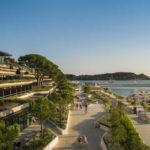 Grand Park Hotel Rovinj in Kroatien mit Meerblick