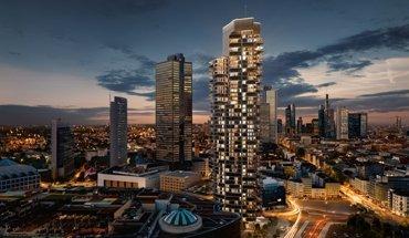 Grand Tower von Magnus Kaminiarz & Cie. Architektur holt den begehrten European Property Award 2017 in gleich drei Kategorien. Bild: gsp Städtebau