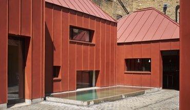 Das GreenCoat-Gebäude in London hat den Iconic Award 2017 gewonnen. Bild: SSAB