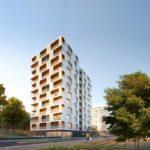 nachhaltiges Holzhochhaus