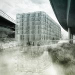 Hinter einer transparenten Hülle steckt eine robuste Betonstruktur. Foto: Hawa Student Award