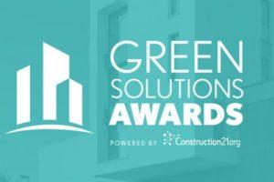 Header Green Solutions Awards in Kooperation mit DGNB