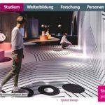 Webseite neuer Bachelor-Studiengang Spatial Design an der Hochschule Luzern