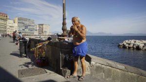 alter Mann in Neapel