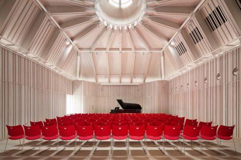 Royal Academy of Music, London, Konzertsaal. Bild: Adam Scott