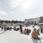 Israels Plads in Kopenhagen. Bild: Rasmus Hjortshøj - COAST, Cobe und Sweco Architects