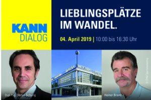 Der KANN-Dialog 2019 befasst sich in diesem Jahr mit der Frage, wie Städteplaner und Architekten den öffentlichen Raum zukunftsfähig gestalten können.