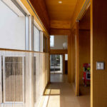 Korridor in einem Haus in Japan