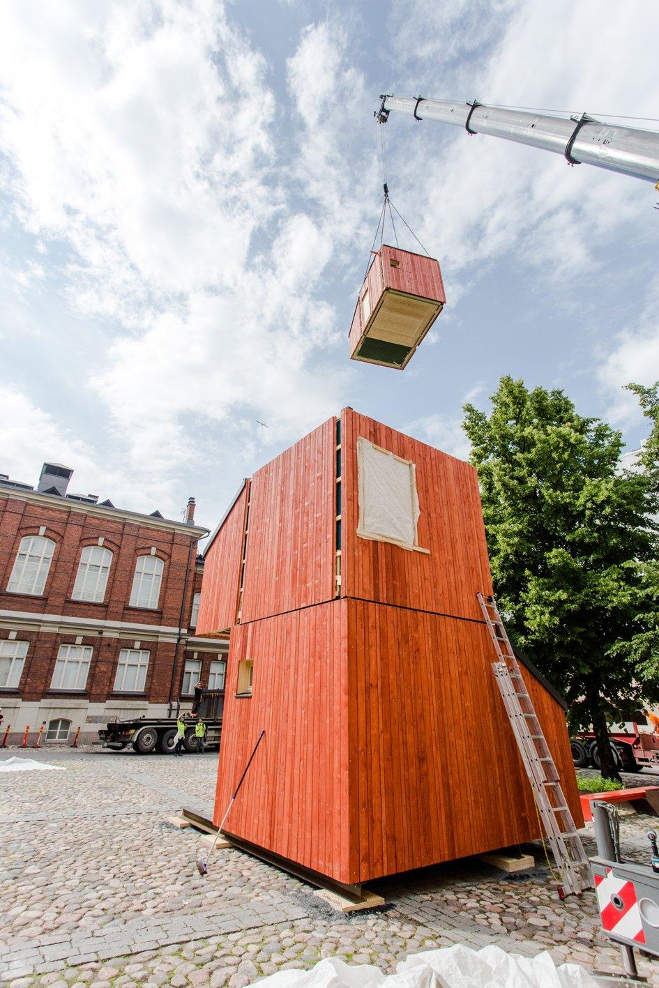 kokoon system f r modulares bauen und wohnen ausgezeichnet. Black Bedroom Furniture Sets. Home Design Ideas