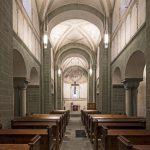 Nominiert in der Kategorie Kulturbauten: die St. Andreas-Kirche Ostönnen. Lichtplanung: Maximilian Piltz (Lightmosphere). Bild: Boris Golz