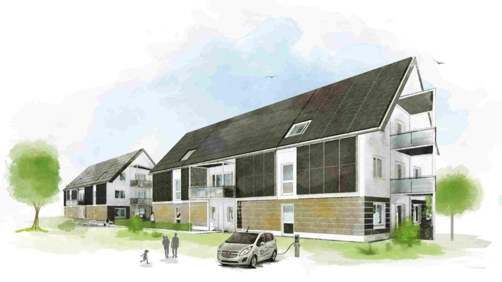 energieautarke enttechnisierte Mehrfamilienhäuser in Lübben