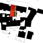 Lageplan mit neuem Ziegel-Mehrgeschosser. Zeichnung: beta-planungsteam-gmbh