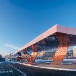 Verkehrsknotenpunkt in Lahti (Finnland). Bild: Mika Huisman