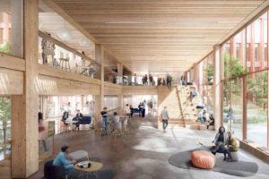 Bürogebäude in Holzbauweise von C.F. Møller Architects