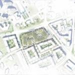 Lageplan Bürogebäude von C.F. Møller Architects in Odense