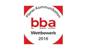 Logo des bba Planer-Kommunikation-Wettbewerbs 2016