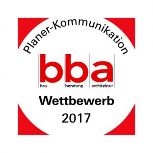 bba Wettbewerb Planer-Kommunikation 2017