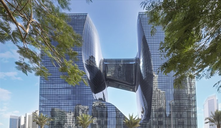 Luxus-Hotel von Zaha Hadid im Opus by Omniyat-Gebäude in Dubai