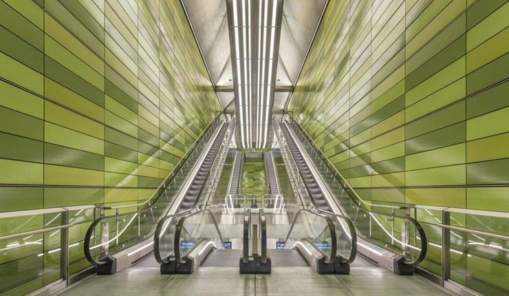 Keramikplatten für die Fassadengestaltung von sieben neuen U-Bahnhöfen