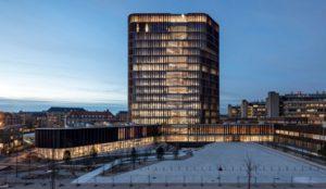 Der Maersk Tower in Kopenhagen ist Gewinner beim diesjährigen Kupfer-Architekturpreis. Bild: rk