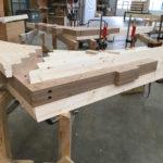 Holzfinnen aus Brettschichtholz