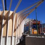 Pavillon in Holzbauweise