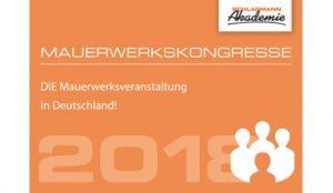 Geballtes Wissen rund ums Thema Mauerwerksbau gibt es auf den Kongressen in Ulm und München. Bild: Schlagmann Poroton