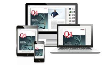 Um WDVS geht es unter anderem in der neuen Ausgabe von Q4. Bild: quick-mix