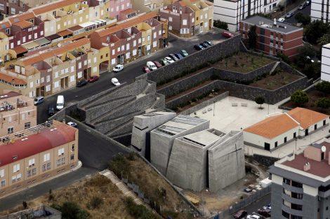Kirche in La Laguna, Teneriffa. Bild: Menis Arquitectos