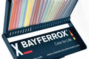 Musterbox für farbigen Beton-3D-Druck