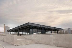 Neue Nationalgalerie in Berlin von Mies van der Rohe