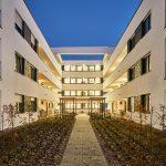 Nachverdichtung eines innerstädtischen Quartiers, Neuss. Architektur: Schmale Architekten GmbH, Grevenbroich. Bld: Dejan Saric