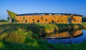 Das Dach des neuen Niverplast-Firmengebäudes in den Niederlanden ist zum Optigrün-Dach des Jahres 2017 gewählt worden. Bild: Optigrün