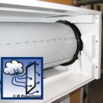 Rollladenkästen und Luftdichtheit