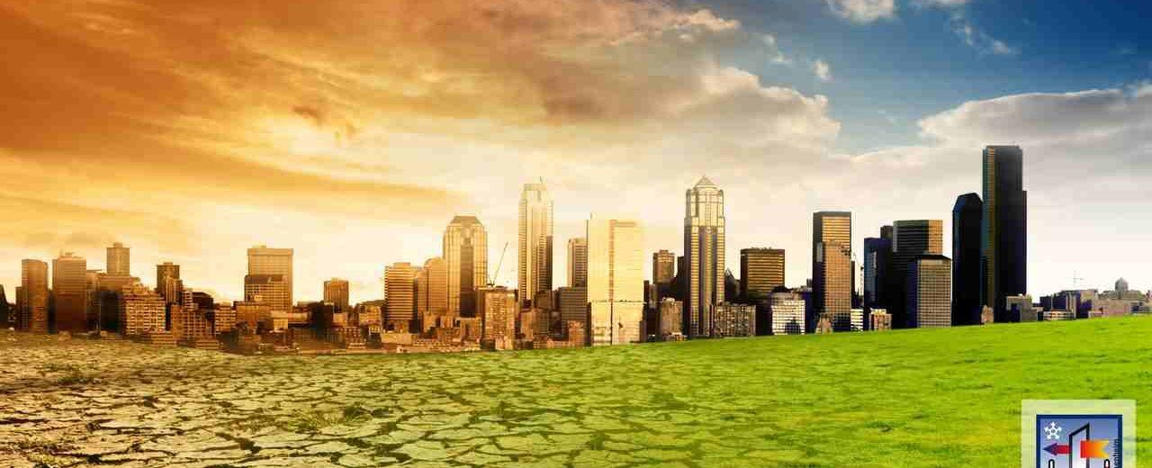 Key-visual zur Sonderschau Green Deal auf der Fenster-Bau Frontale