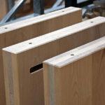 Brettsperrholz-Elemente aus Buchenholz