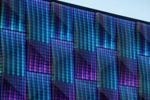 Die Technische Universität Chemnitz hat eine praxisreife Bio-Fassade entwickelt, die zu 35 Prozent aus nachwachsenden Rohstoffen besteht. Bild: Silvia Giardino Photography