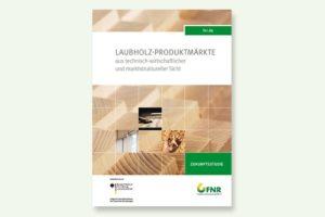 Broschüre zum Vergleich von Laubholz und Nadelholz beim Bauen