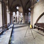 Als Sofortmaßnahme nach dem Brand wurde Notre-Dame mit dem Laserscanner FARO FocusS erfasst. Bild: Art Graphique & Patrimoine