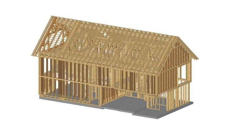 BIM im Holzbau - Forschungsprojekt an der TU München: