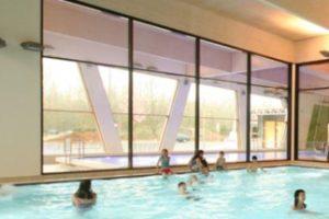 Das Lippe-Bad im westfälischen Lünen gilt als Pionierprojekt für den Passivhaus-Standard bei Hallenbädern. Bild: Passivhaus Institut