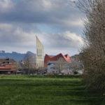 Bleibach im Schwarzwald mit Kirchturm aus Holz