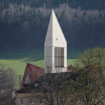 Glockenturm aus Holz in Schwarzwälder Dorf